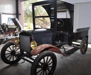 My New Project a 1920-23 Model T