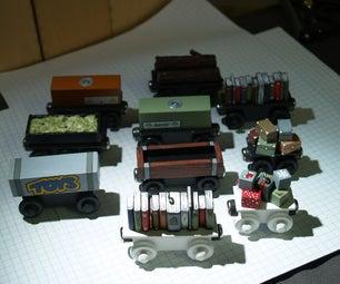 'Thomas the Tank Engine' Style Train Cars