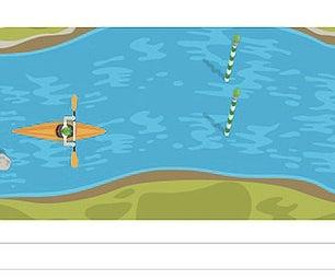 Google Doodle Game Slalom Canoe Hack