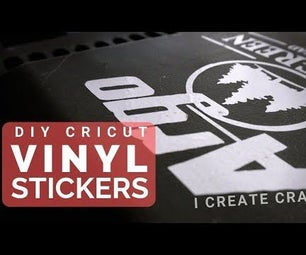 How to Make Custom Stickers, Decals & Signs With a Cricut Machine & Vinyl