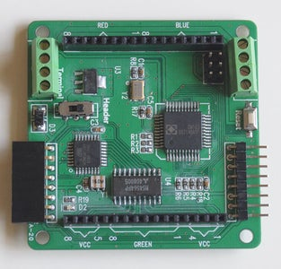 Connect the Matrix to the Colorduino