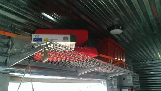 Overhead Side Shelves