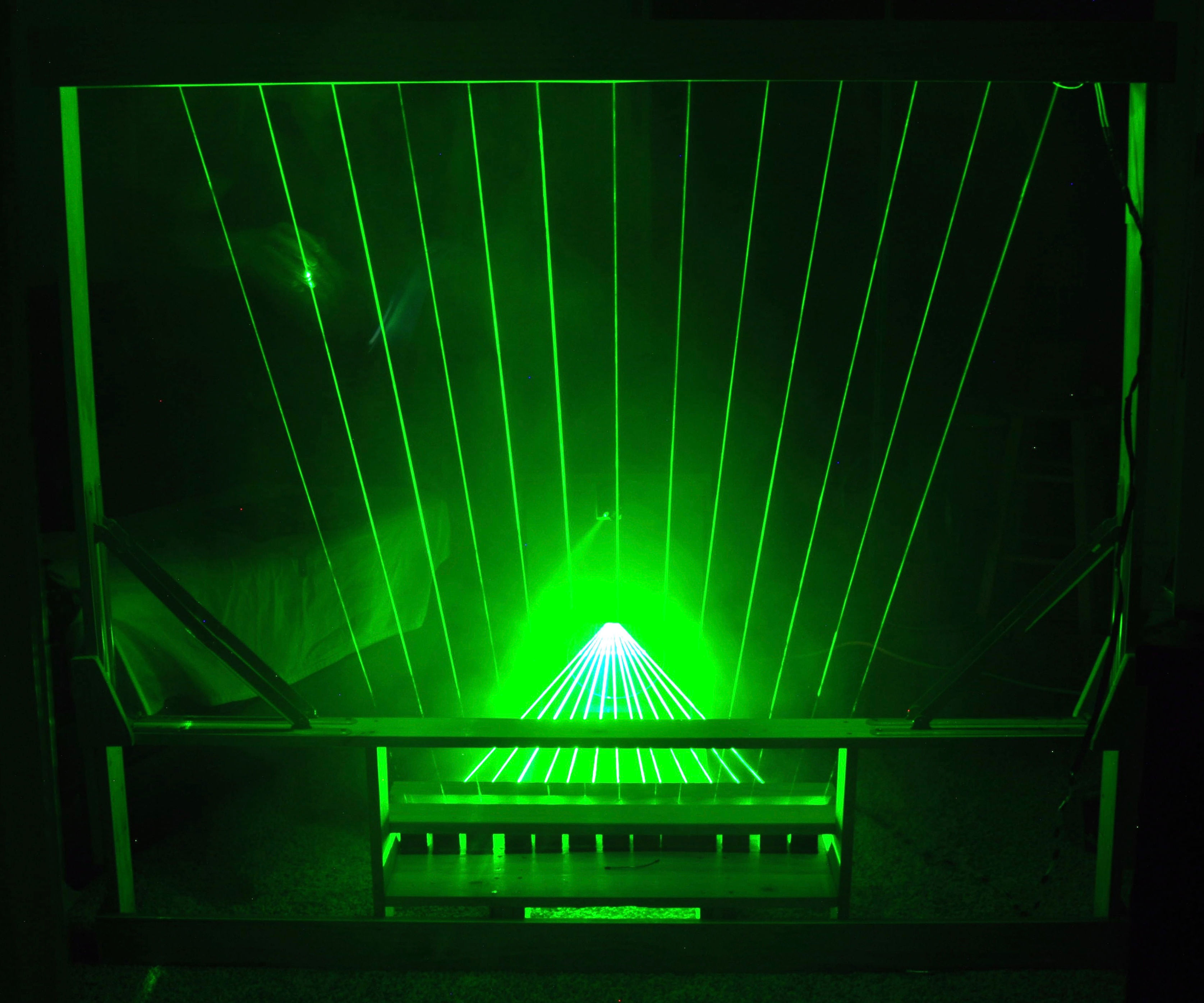13 Note MIDI Laser Harp