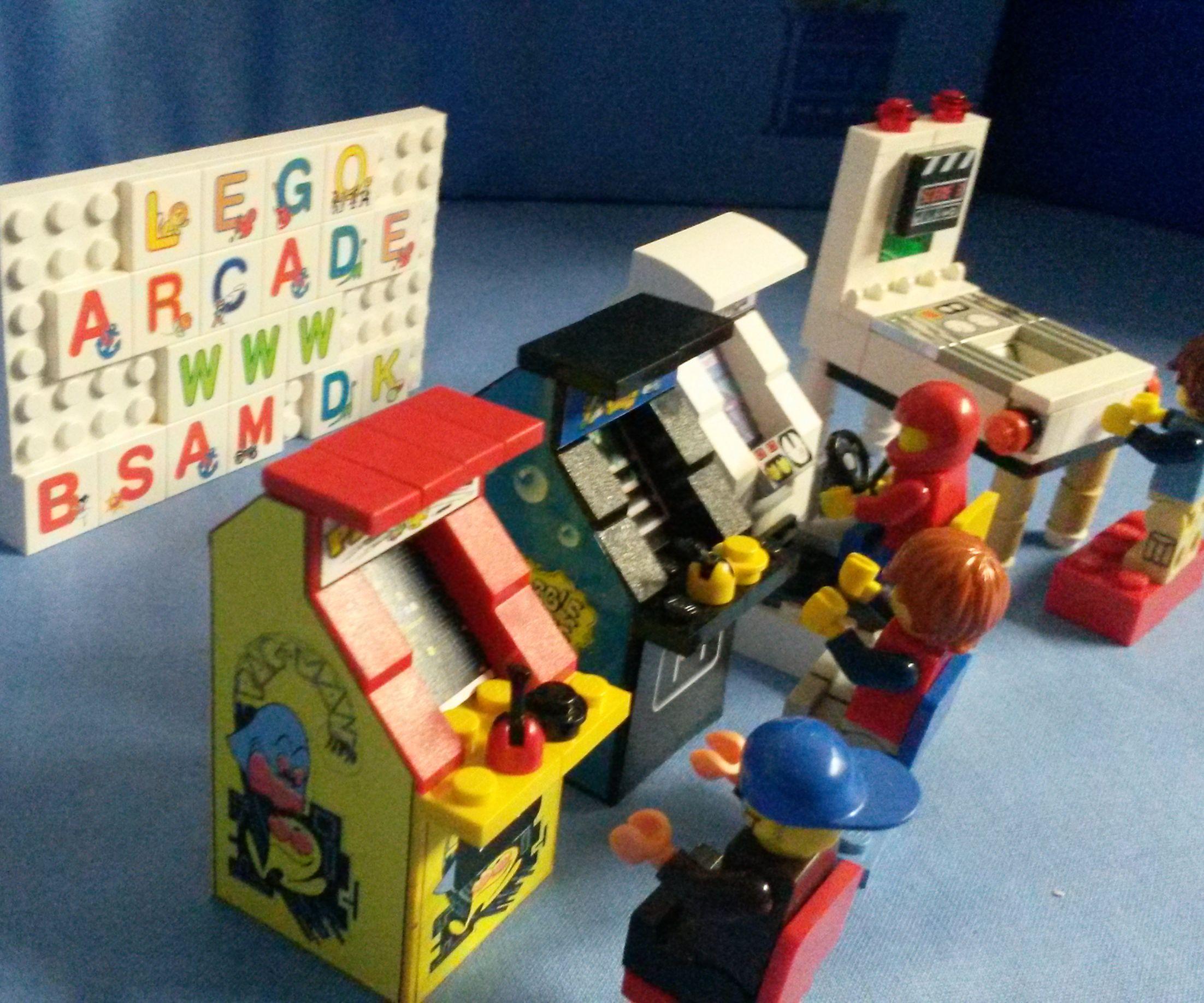 Lego arcade game room