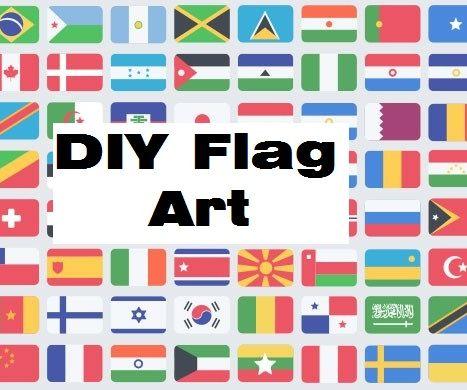 DIY Flag Art: Congo