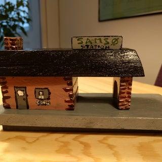 Handmade Station for Thomas the Tank Engine Wooden Train Set