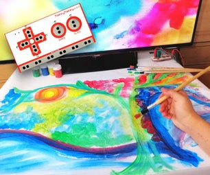 Musical Painting Canvas With Makey Makey