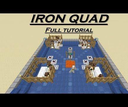 Minecraft Iron Farm