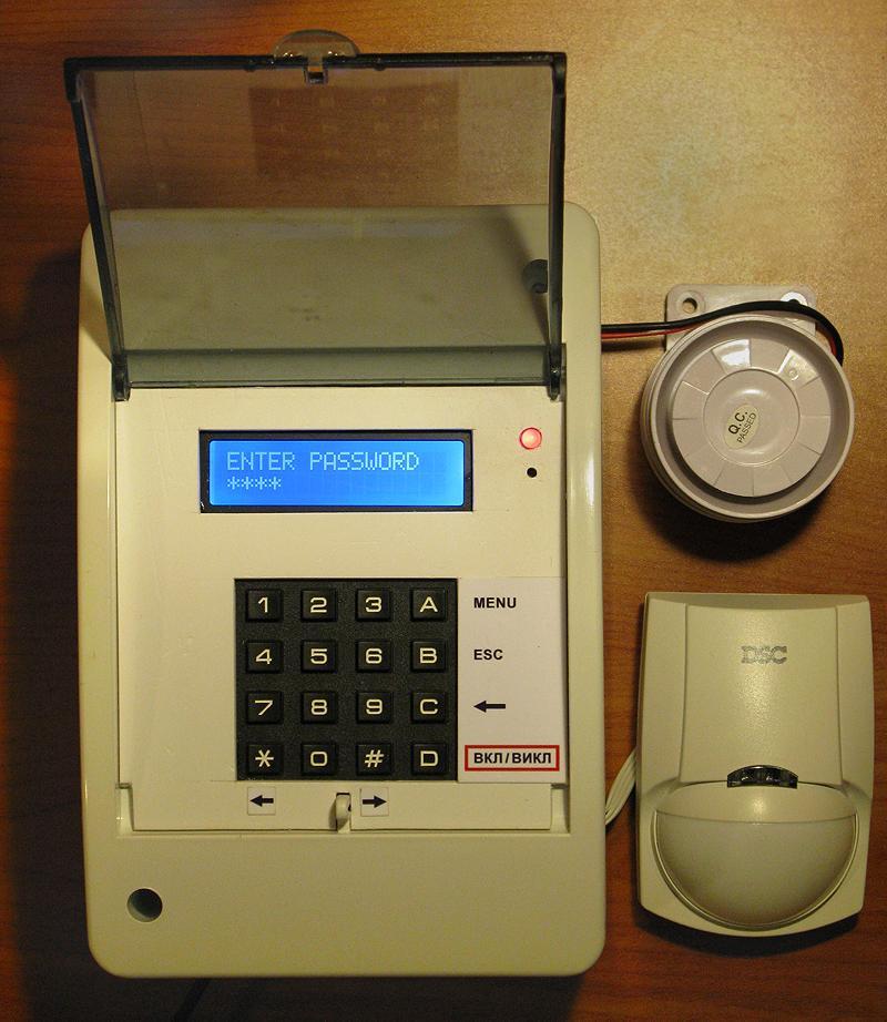 Arduino-based Burglar and Fire Alarm System