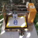 Homemade CNC Machine From DC Servo Motors and Wooden Wine Boxes