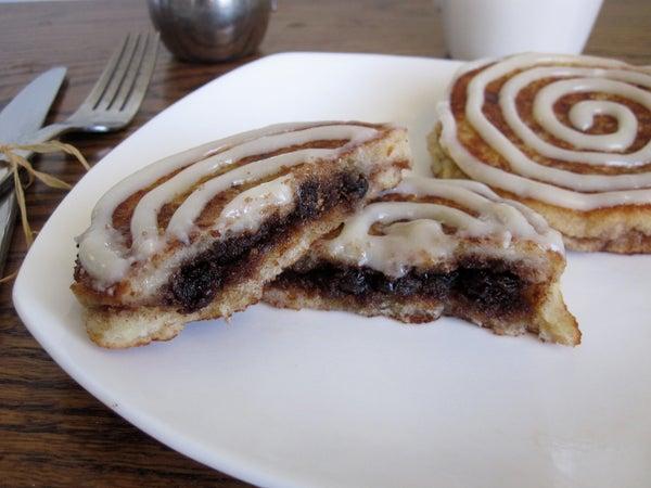 Cinnamon Roll Sandwich