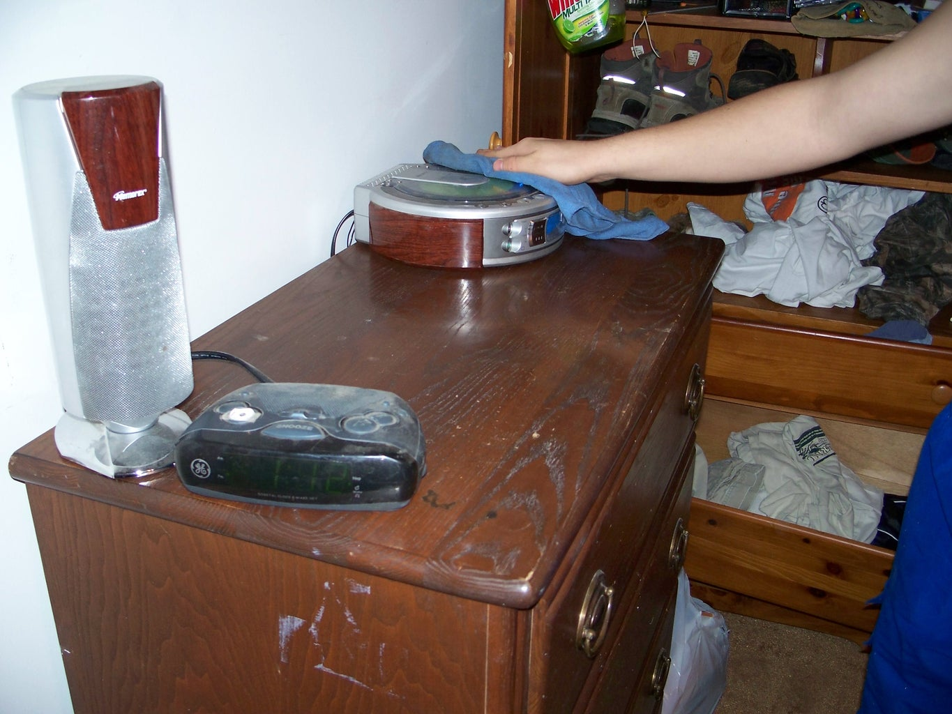 Step Five: Dressers and Tabletops