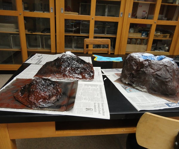 Building Realistic Model Volcanoes