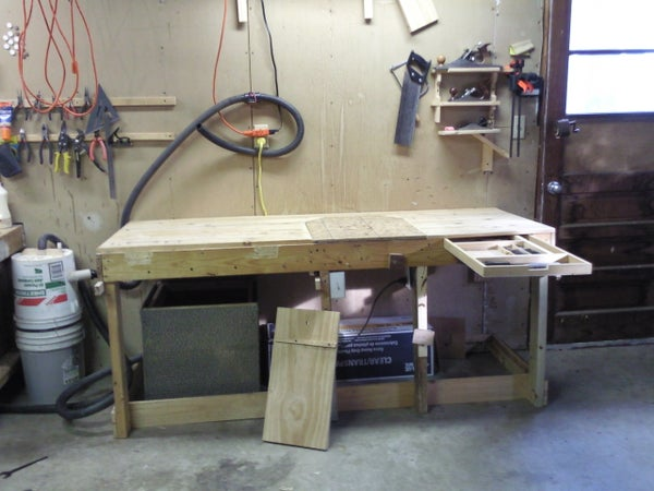 The Interchangeable Woodwork Bench With Electric Power