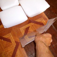 Remove Vinyl Tiles With Dry Ice