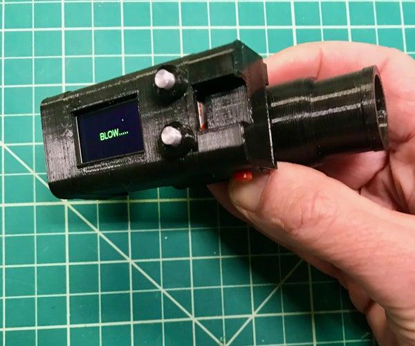 3D打印肺活量计