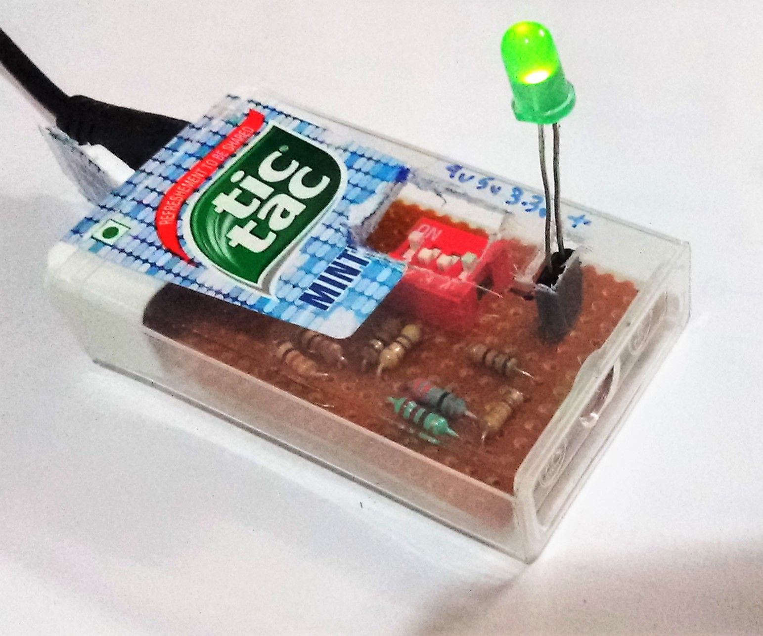 The Tic Tac Adjustable Power Supply