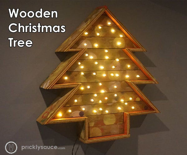 Wooden Christmas Tree - How to Make