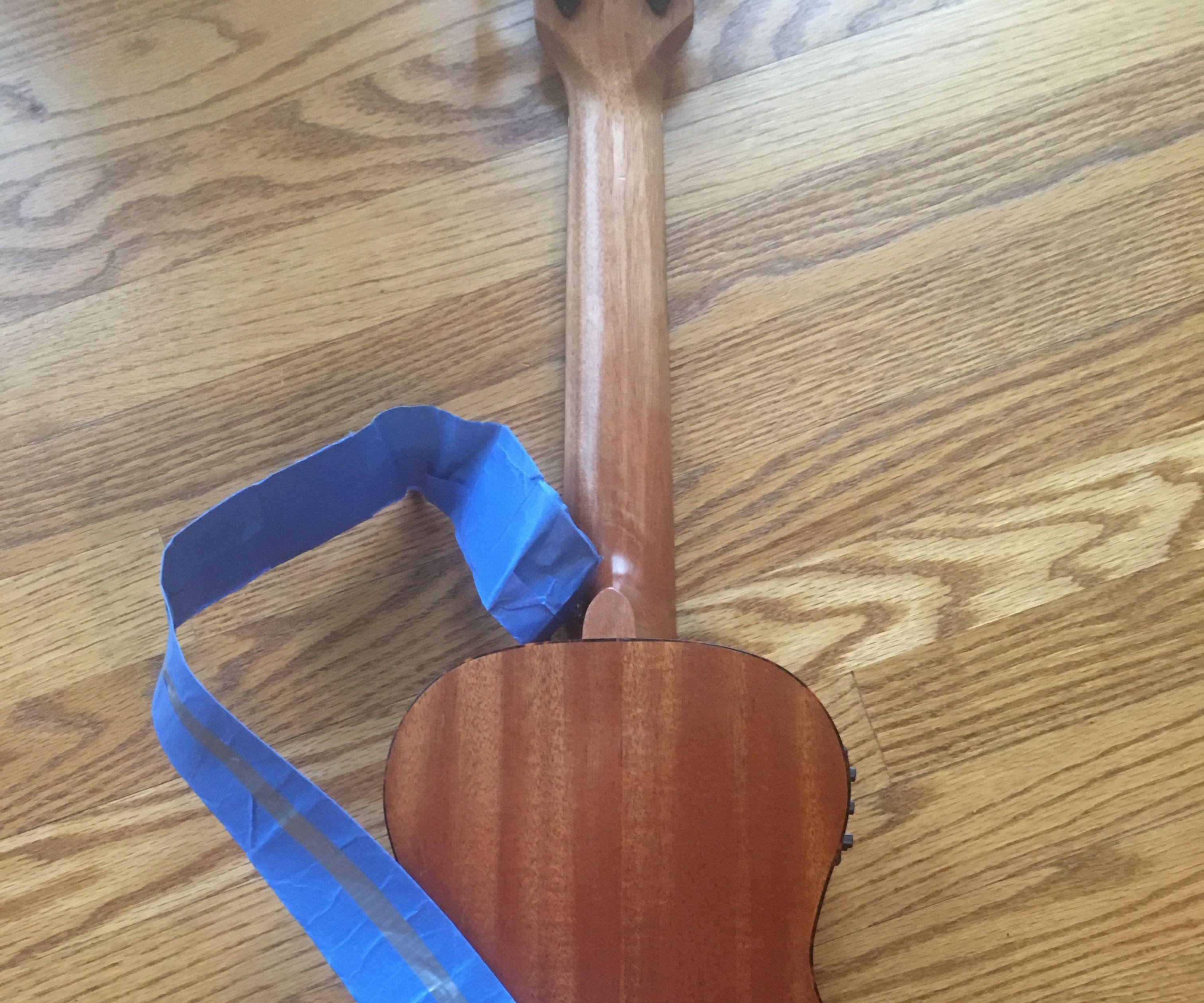 Duck Tape Guitar Strap