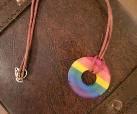 Pride Washer Necklaces
