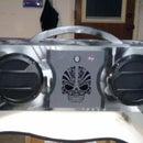 4 Speaker Camouflaged Boom Box