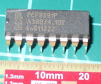 Arduino and PCF8591 ADC DAC IC