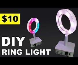 DIY Mini LED Ring Light!
