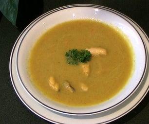 Vegetables  Mussels  Soup.
