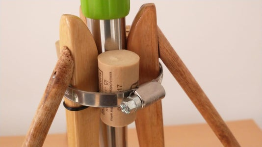Making It Rigid - Still Using Around the House or Easily/cheaply Sourceable Items -