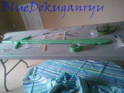 Masking Tape and Fix Ups