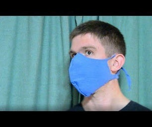 Fitted Coronavirus Face Mask