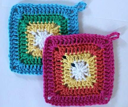 Easy Crochet Potholder