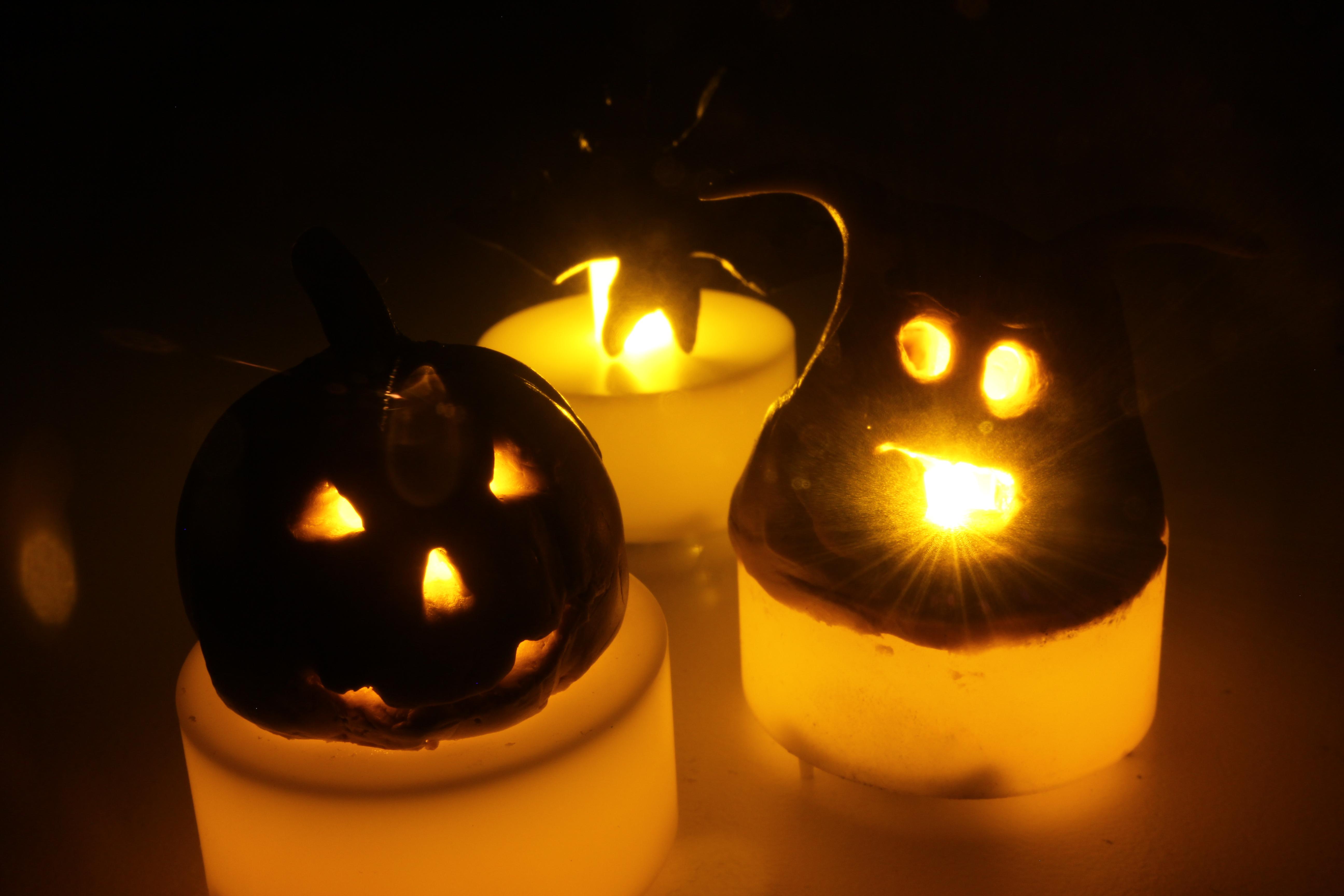 Halloween Sugru Lights
