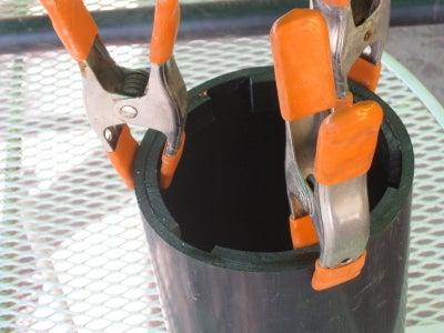 Glue the Arcs in the Tube