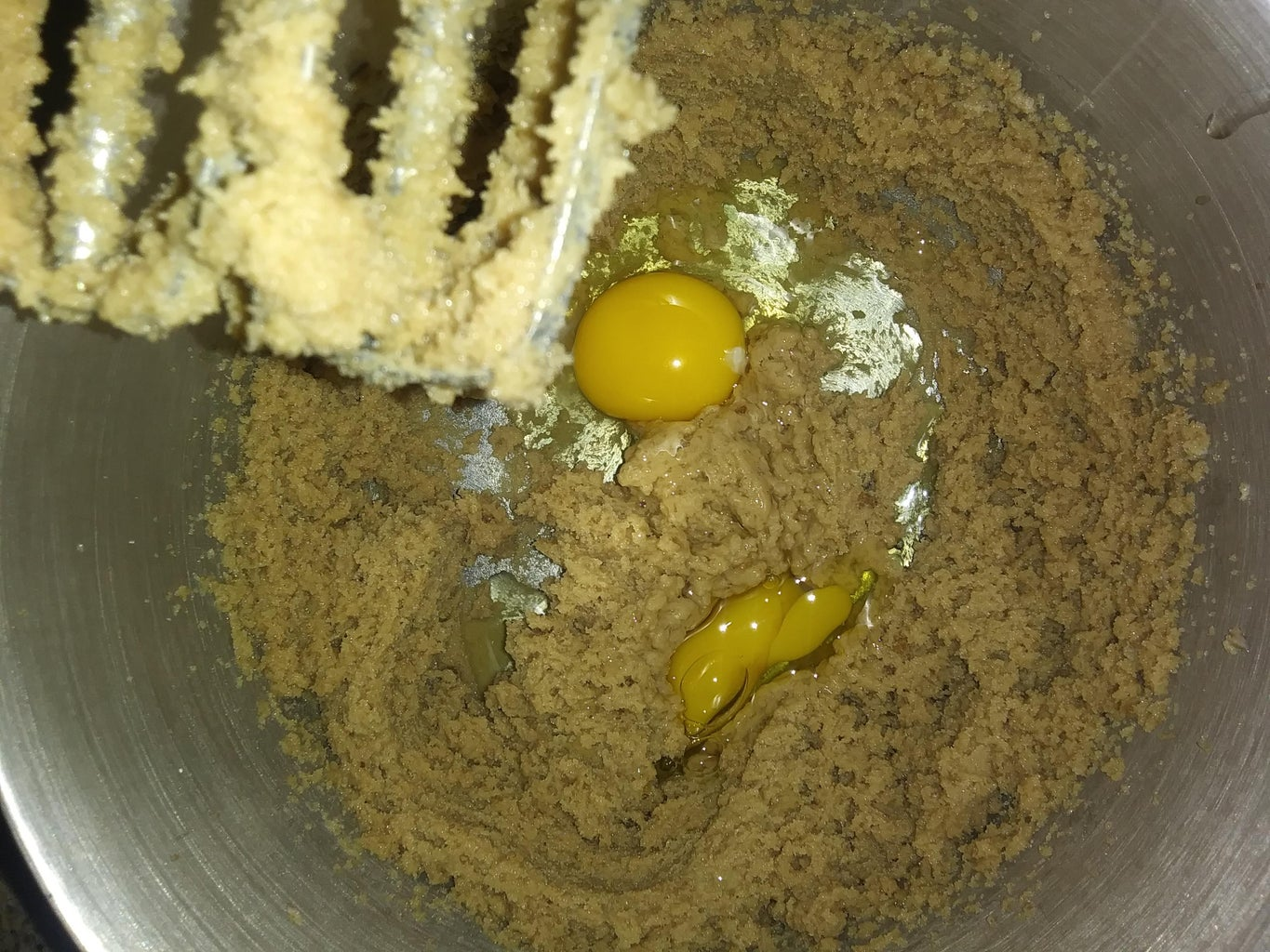 Making the Mixture Using the Wet Ingredients