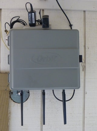 Outdoor Router Cabinet