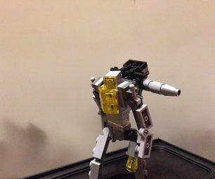 Mini Lego Transformers: Shockbomber