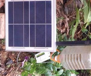 Air-Lift Irrigation Using Solar Panel