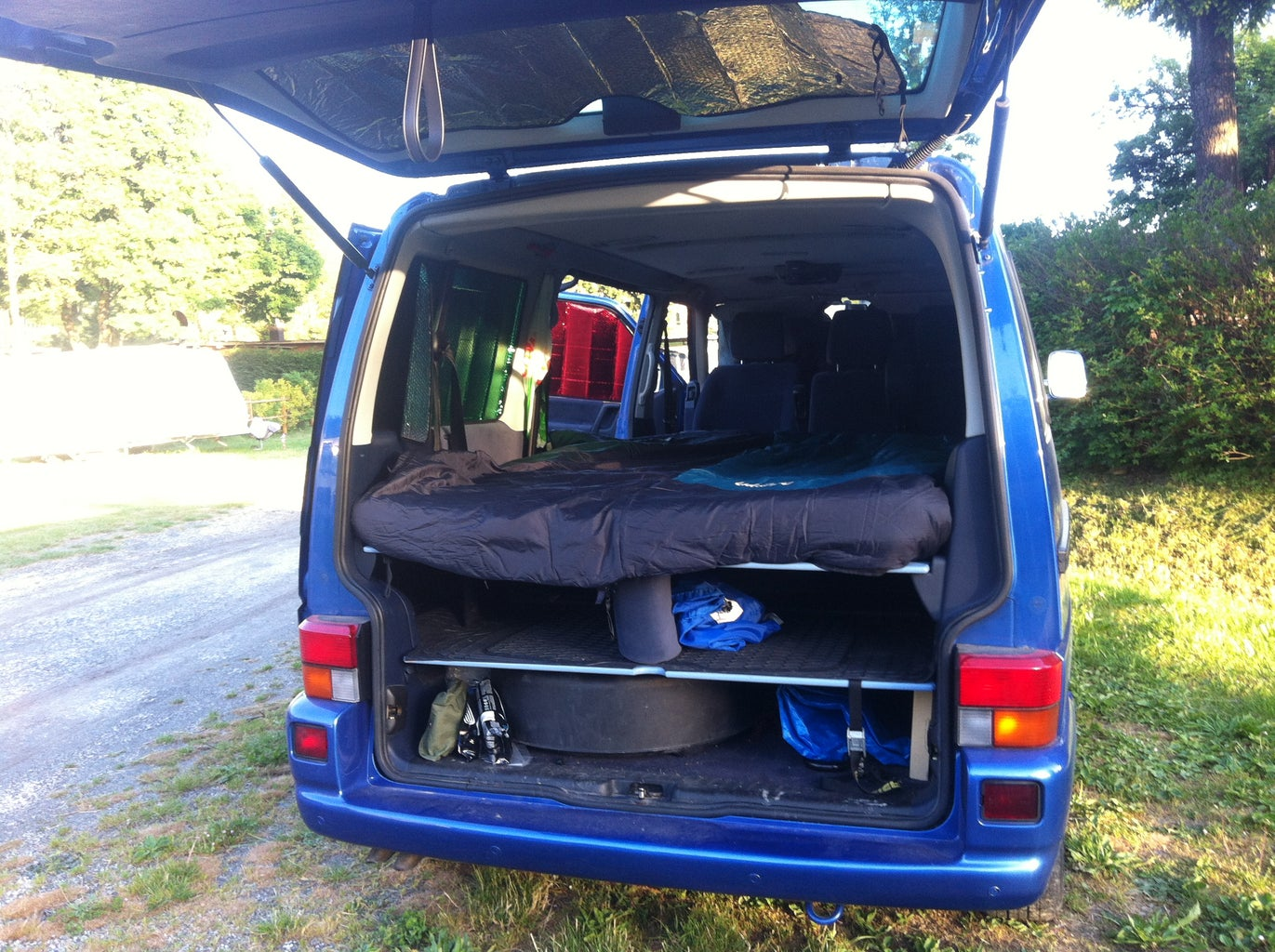 The Campervan in Use