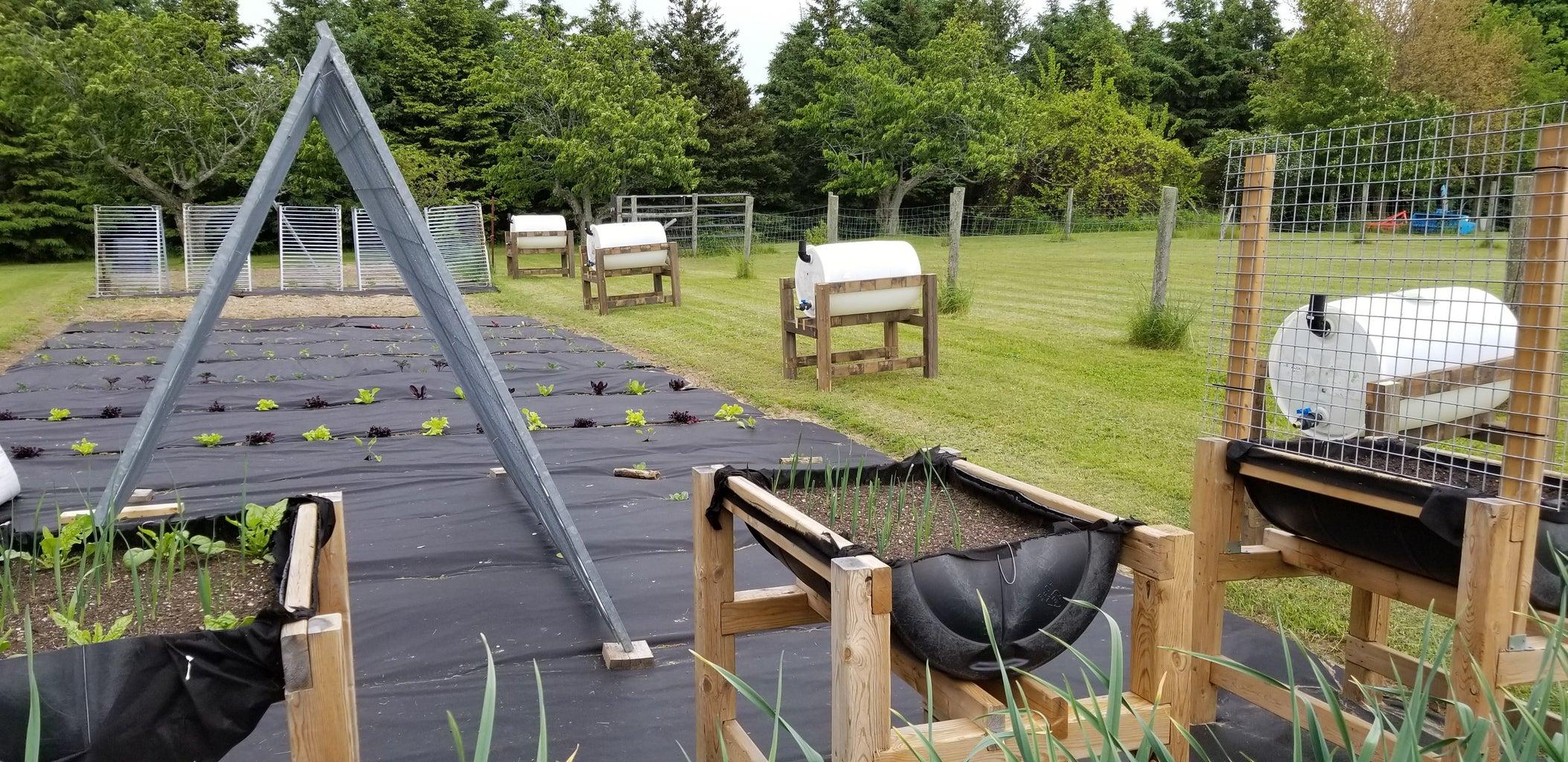Preparing to Water the Garden
