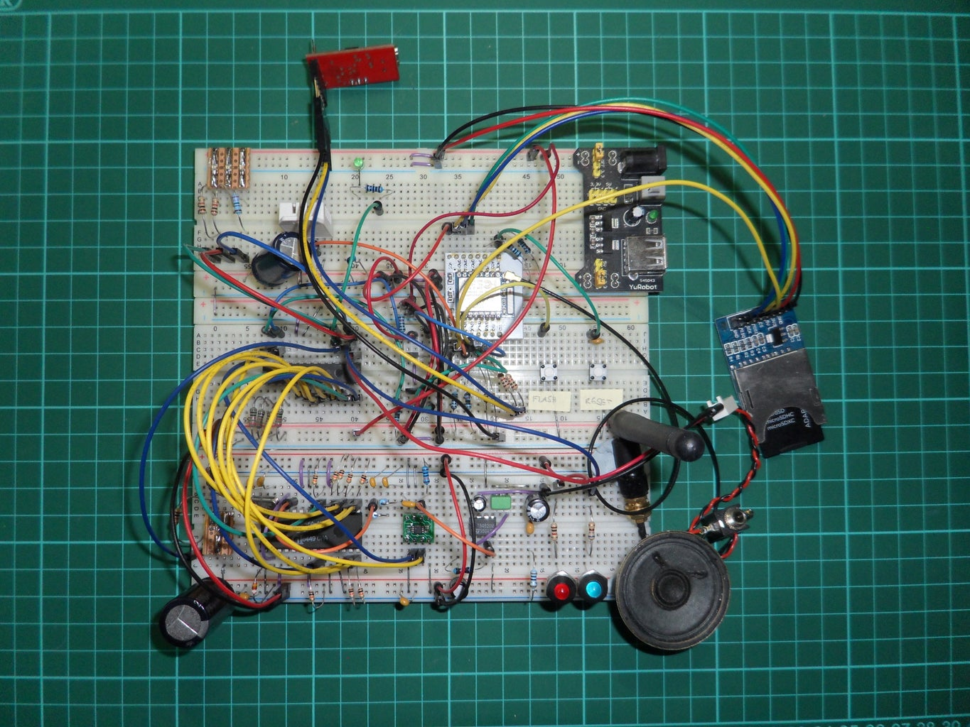 Retro Speech Synthesis. Part : 12 IoT, Home Automation