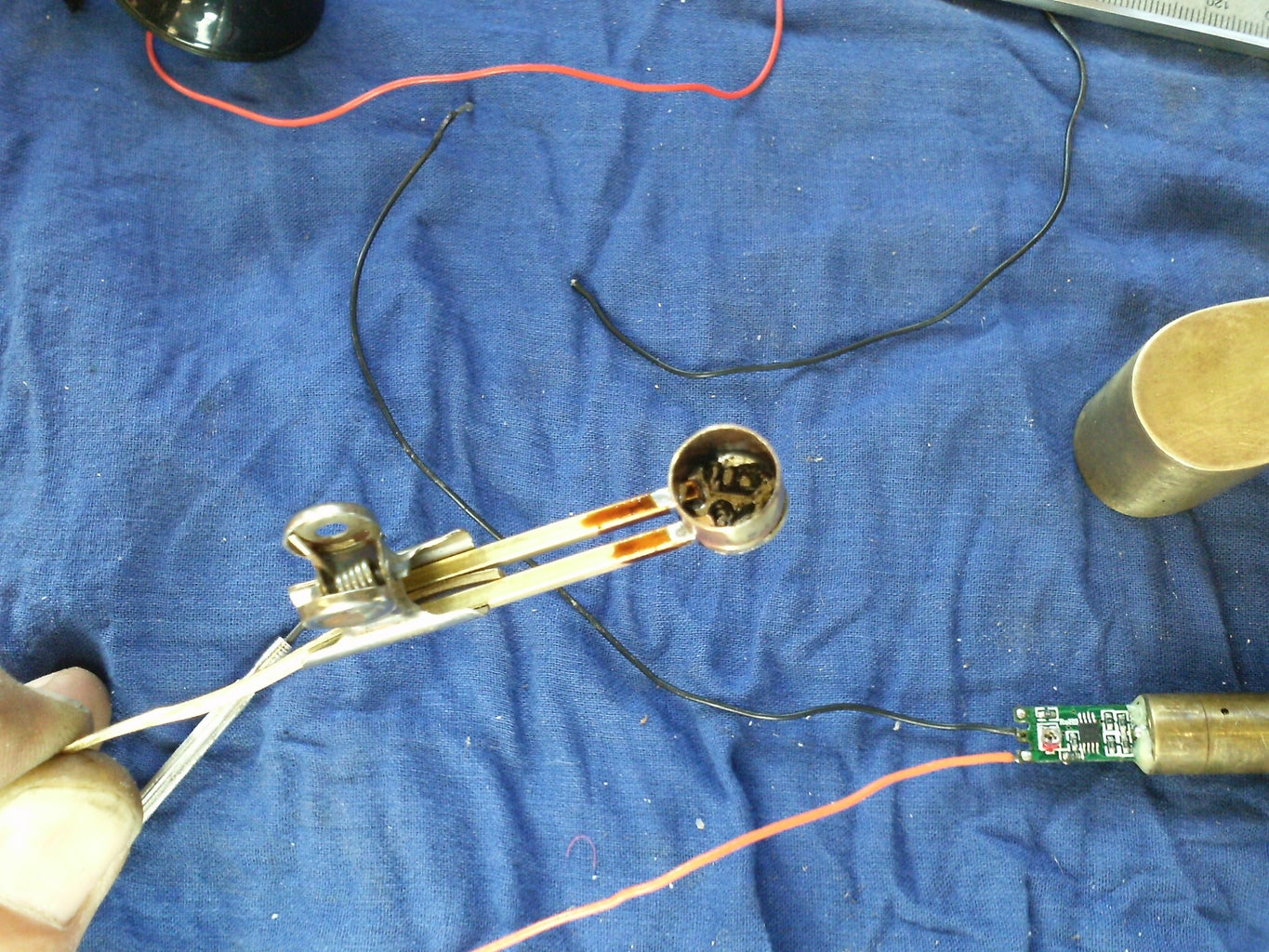 Covering the Laser Driver and Its Wires