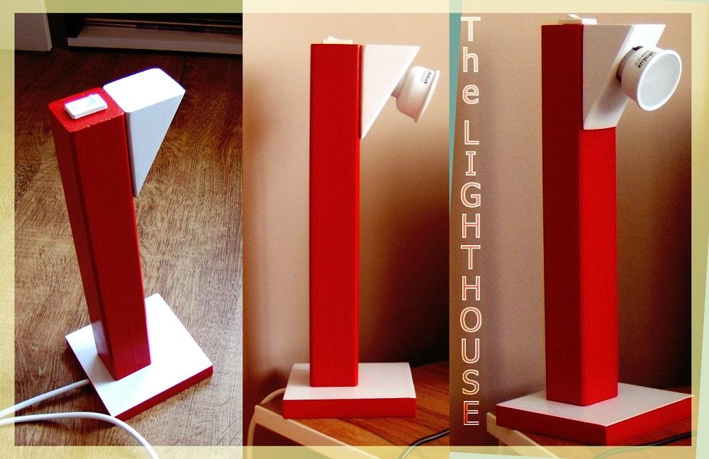 DIY desktop lamp (The Lighthouse)