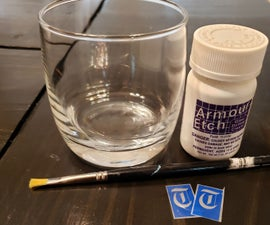 Etching Glass With Compound