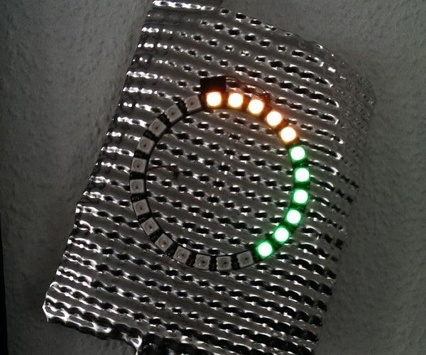 ESP8266 Neopixel Clock