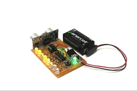 Pocket-Sized Ultrasonic Ruler