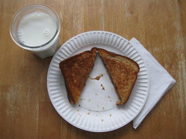 Reese's Peanut Butter Cup... Sandwich?!