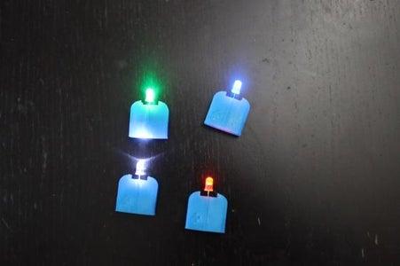Put LEDs