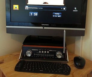Old Radio Android PC Case