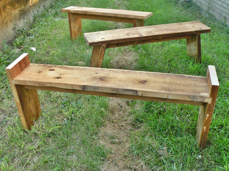2 x 10 Benches